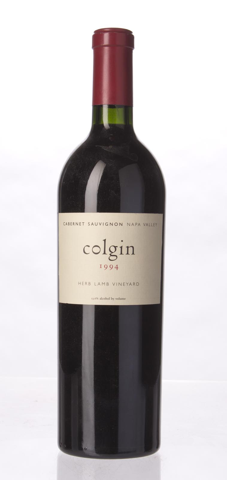 Colgin Cabernet Sauvignon Herb Lamb Vineyard 1994,  (WA96, WS95) from The BPW - Merchants of rare and fine wines.