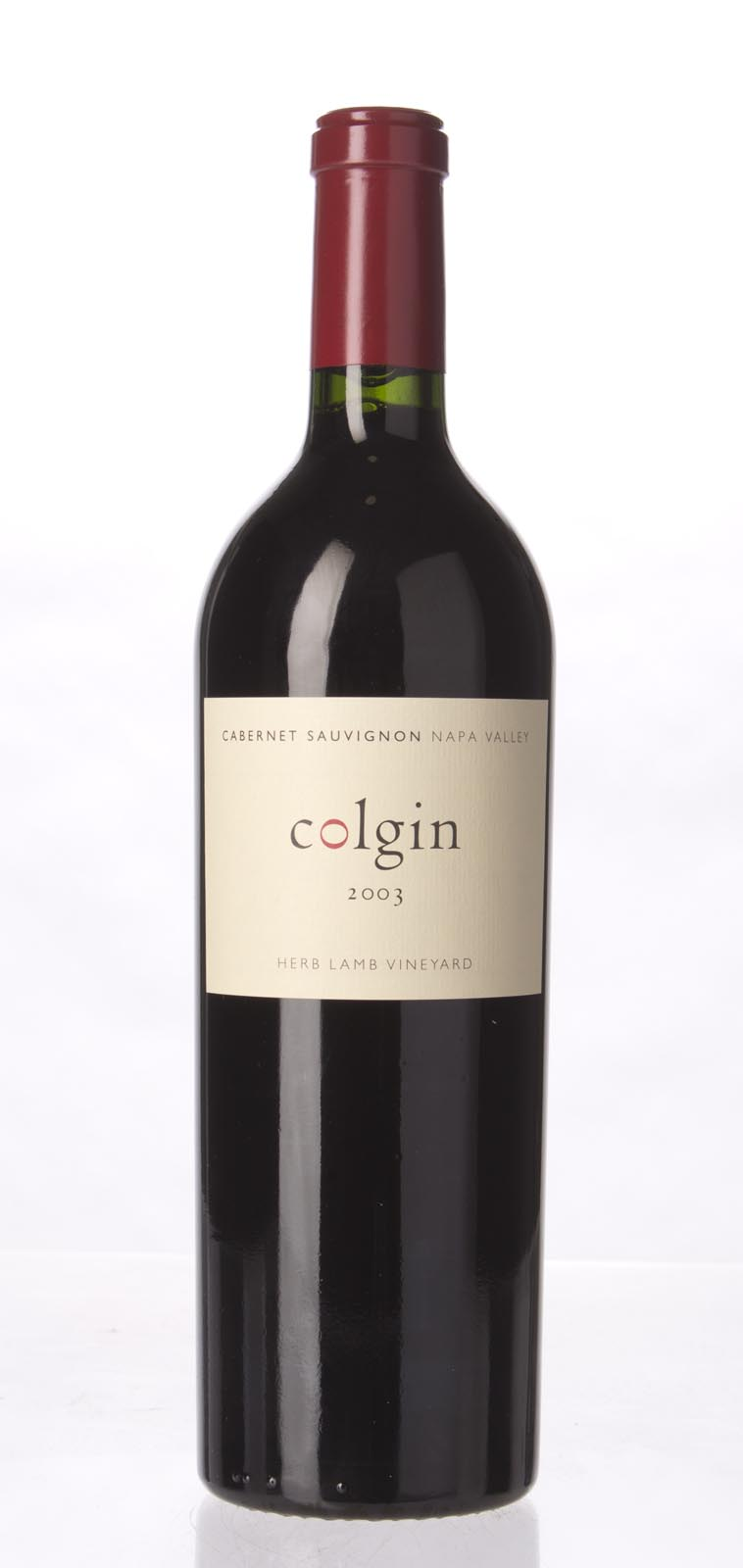 Colgin Cabernet Sauvignon Herb Lamb Vineyard 2003,  (WA94) from The BPW - Merchants of rare and fine wines.