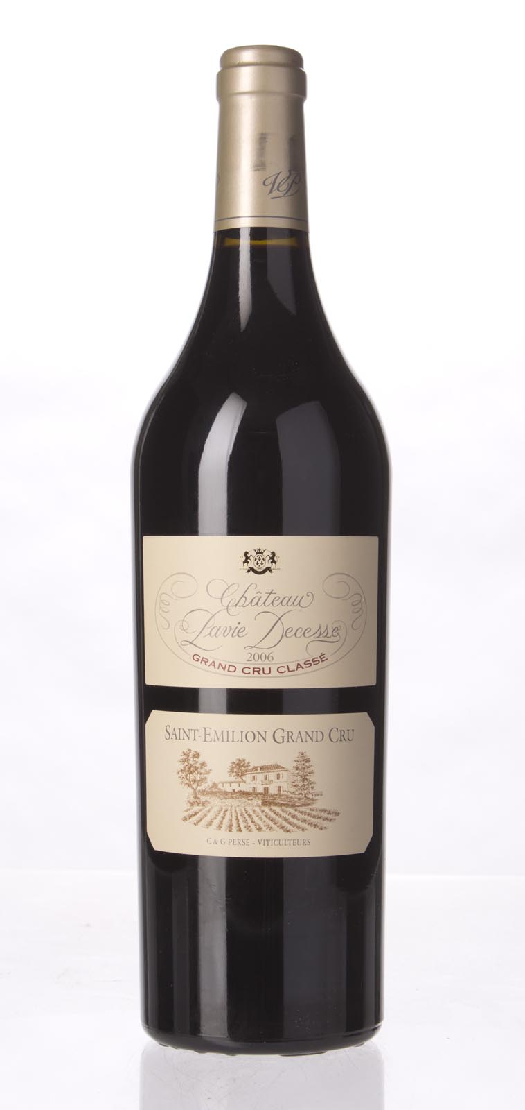 Pavie Decesse 2006,  (WA94+, ST93) from The BPW - Merchants of rare and fine wines.