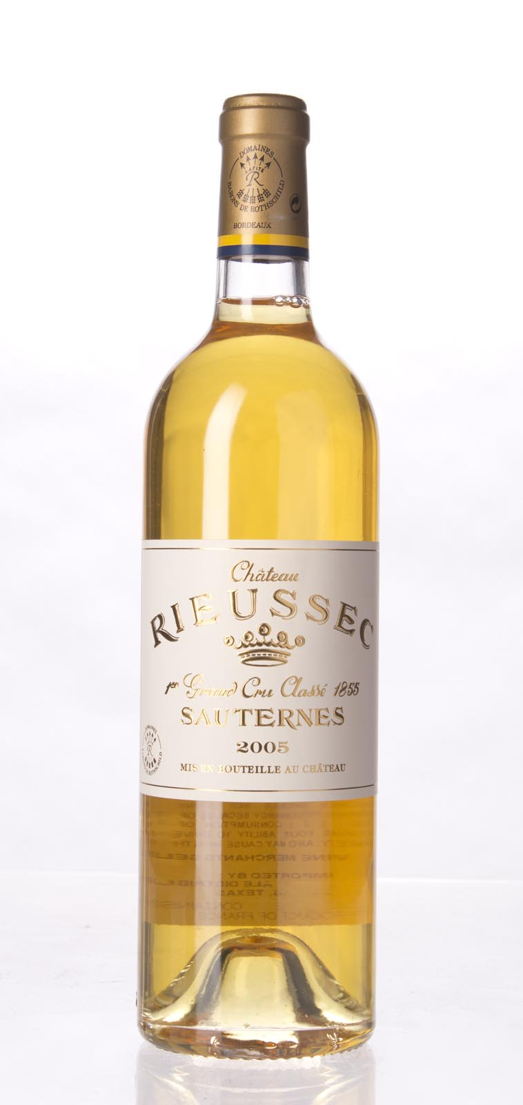Rieussec 2005,  (WA96, WS96) from The BPW - Merchants of rare and fine wines.