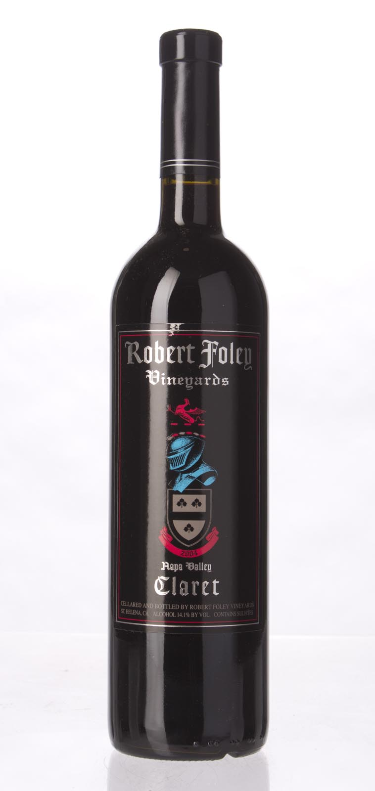 Robert Foley Vineyards Claret 2004,  (WA95) from The BPW - Merchants of rare and fine wines.