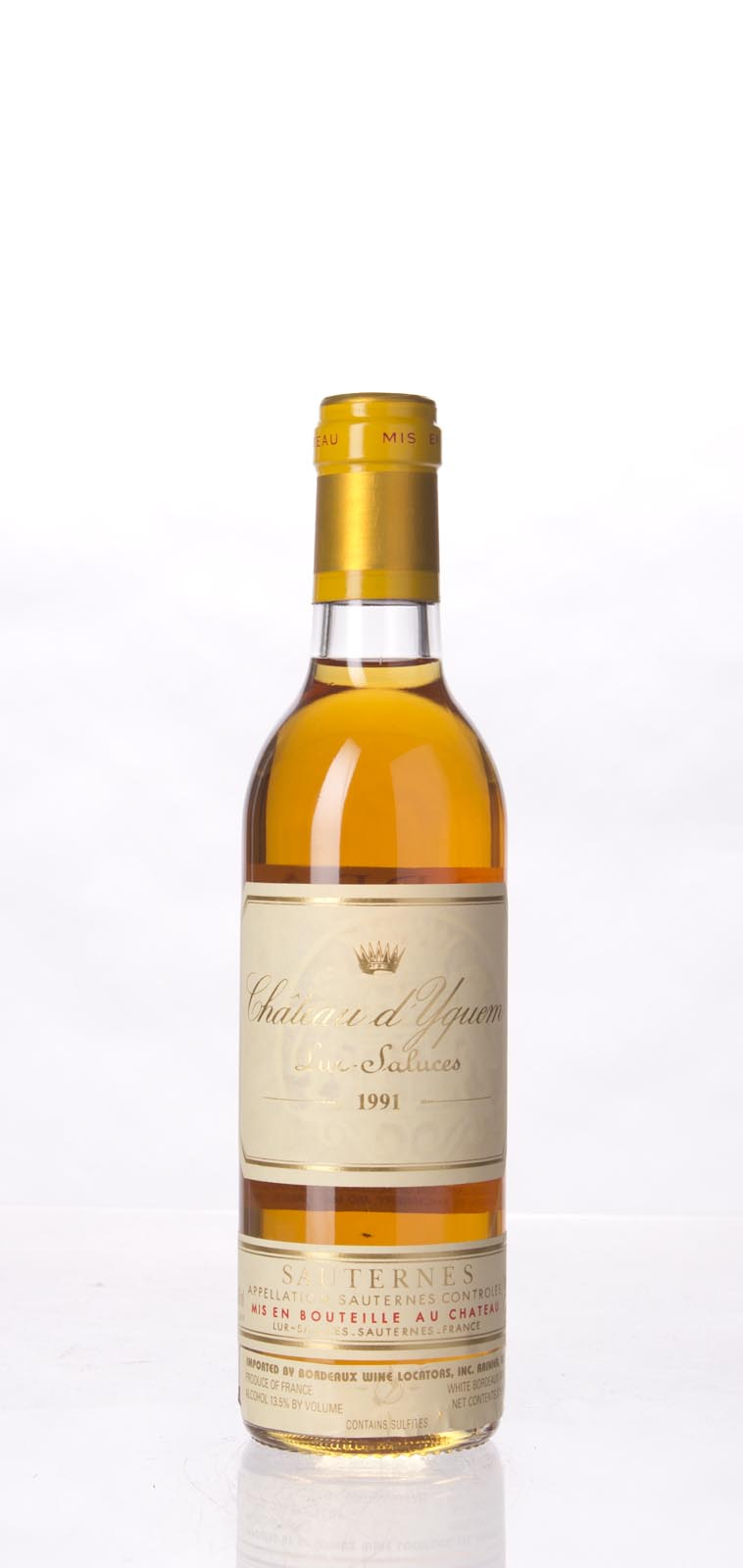 Chateau d`Yquem 1991, 375ml (WA91) from The BPW - Merchants of rare and fine wines.