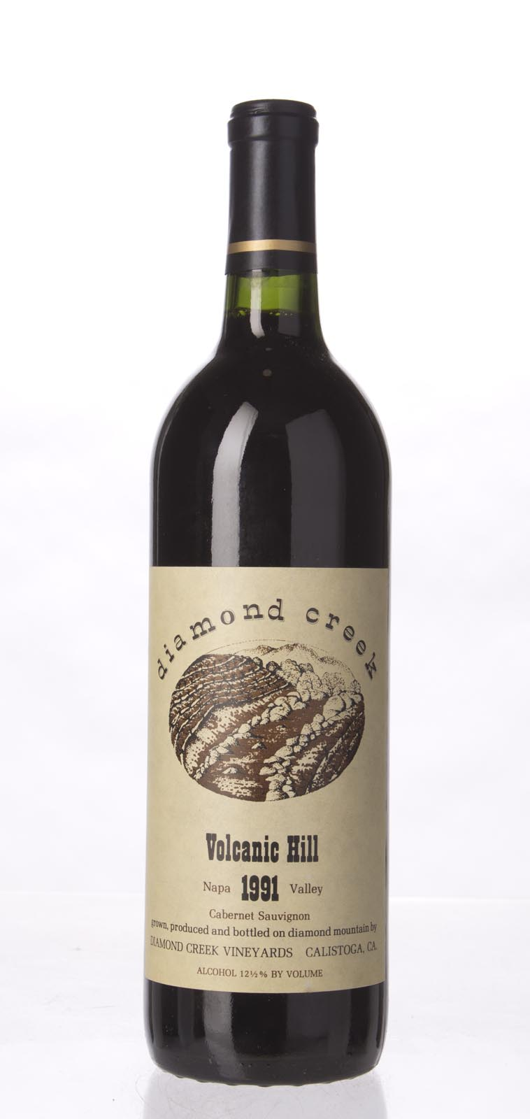 Diamond Creek Cabernet Sauvignon Volcanic Hill 1991, 750ml (WS93) from The BPW - Merchants of rare and fine wines.