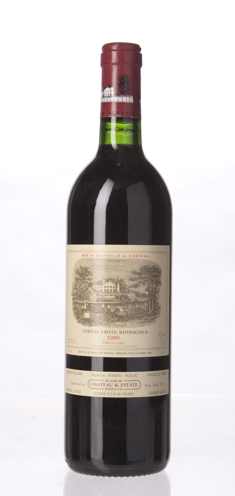Lafite Rothschild 1989,  (WS99) from The BPW - Merchants of rare and fine wines.
