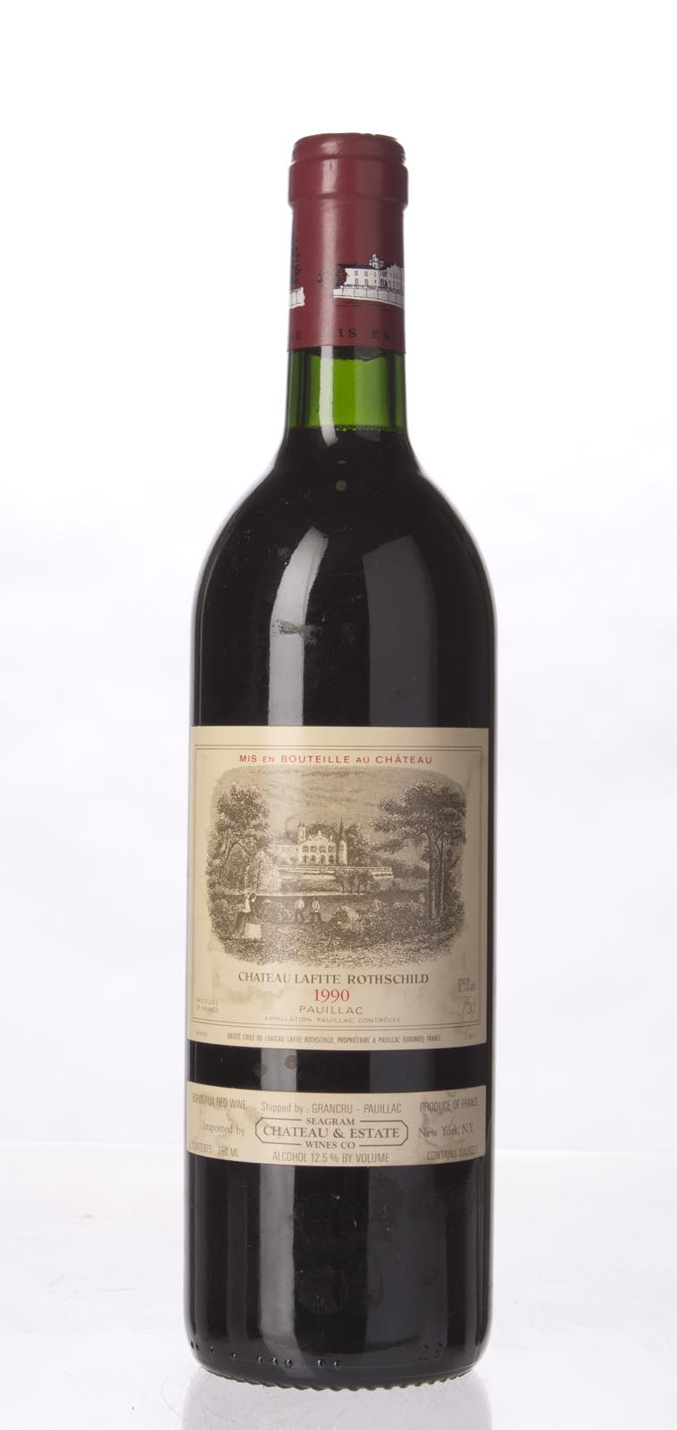 Lafite Rothschild 1990,  (WA96, WS97) from The BPW - Merchants of rare and fine wines.