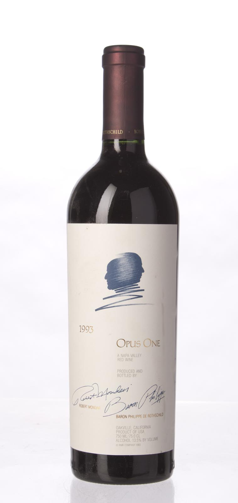 Opus One Proprietary Red Wine 1993,  (WS93) from The BPW - Merchants of rare and fine wines.