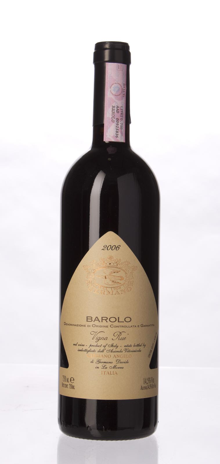 Angelo Germano Barolo Vigna Rue 2006, 750mL () from The BPW - Merchants of rare and fine wines.