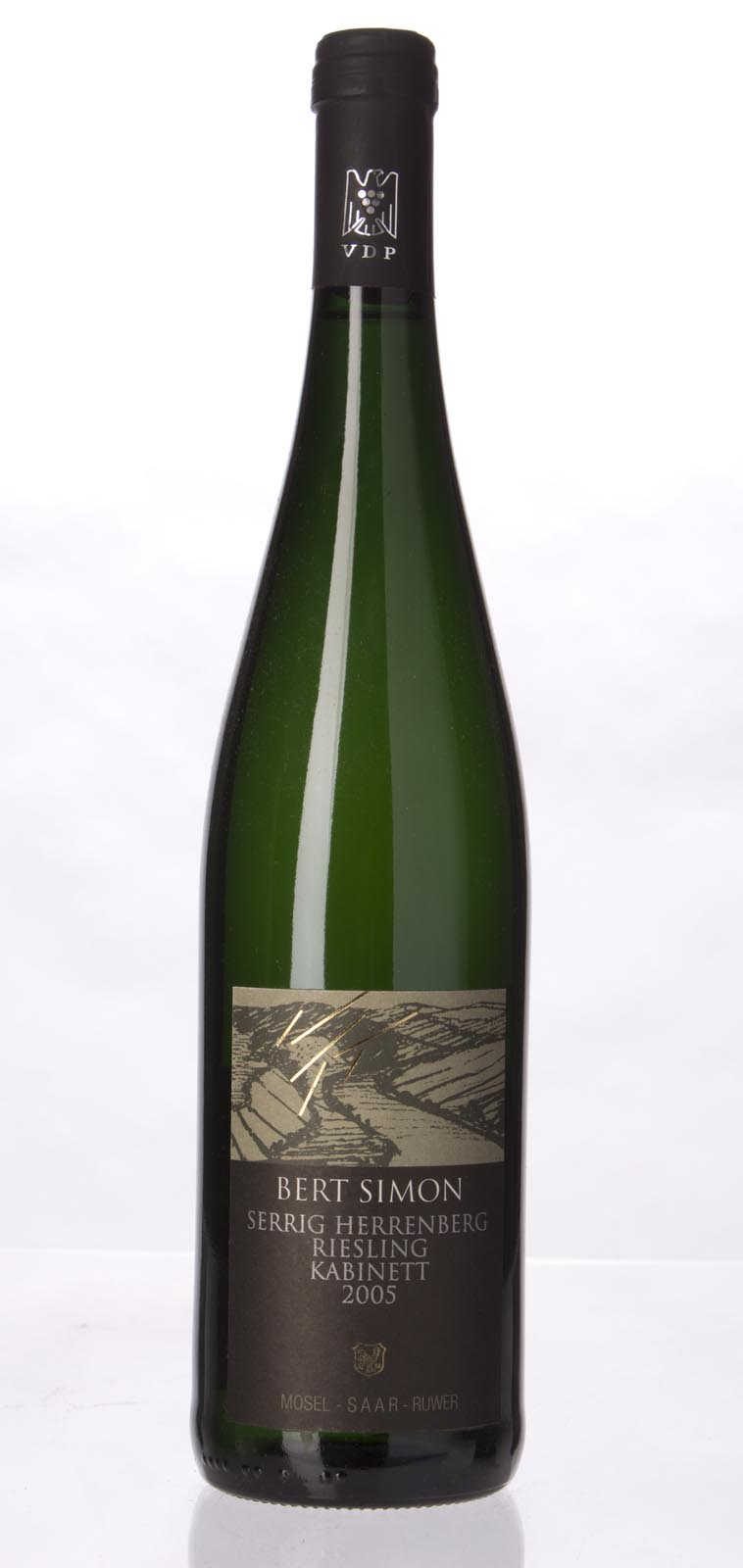Bert Simon Serriger Herrenberg Riesling Kabinett 2005, 750mL (CT89.2) from The BPW - Merchants of rare and fine wines.