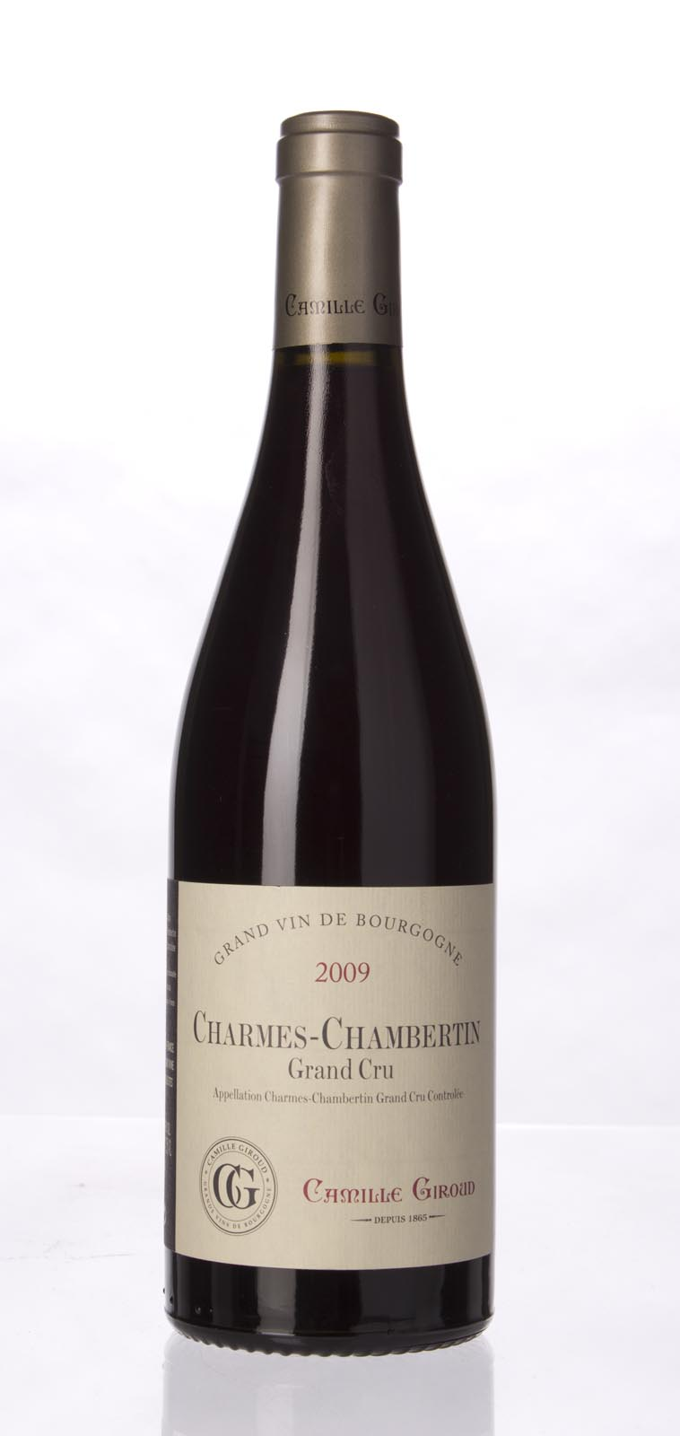 Camille Giroud Charmes Chambertin 2009, 750mL (BH91-93, WA90-93, ST92) from The BPW - Merchants of rare and fine wines.