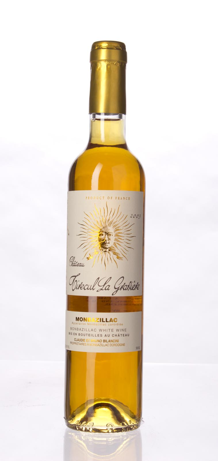 Chateau La Graviere Tirecul Monbazillac 2003, 500mL (WA95) from The BPW - Merchants of rare and fine wines.
