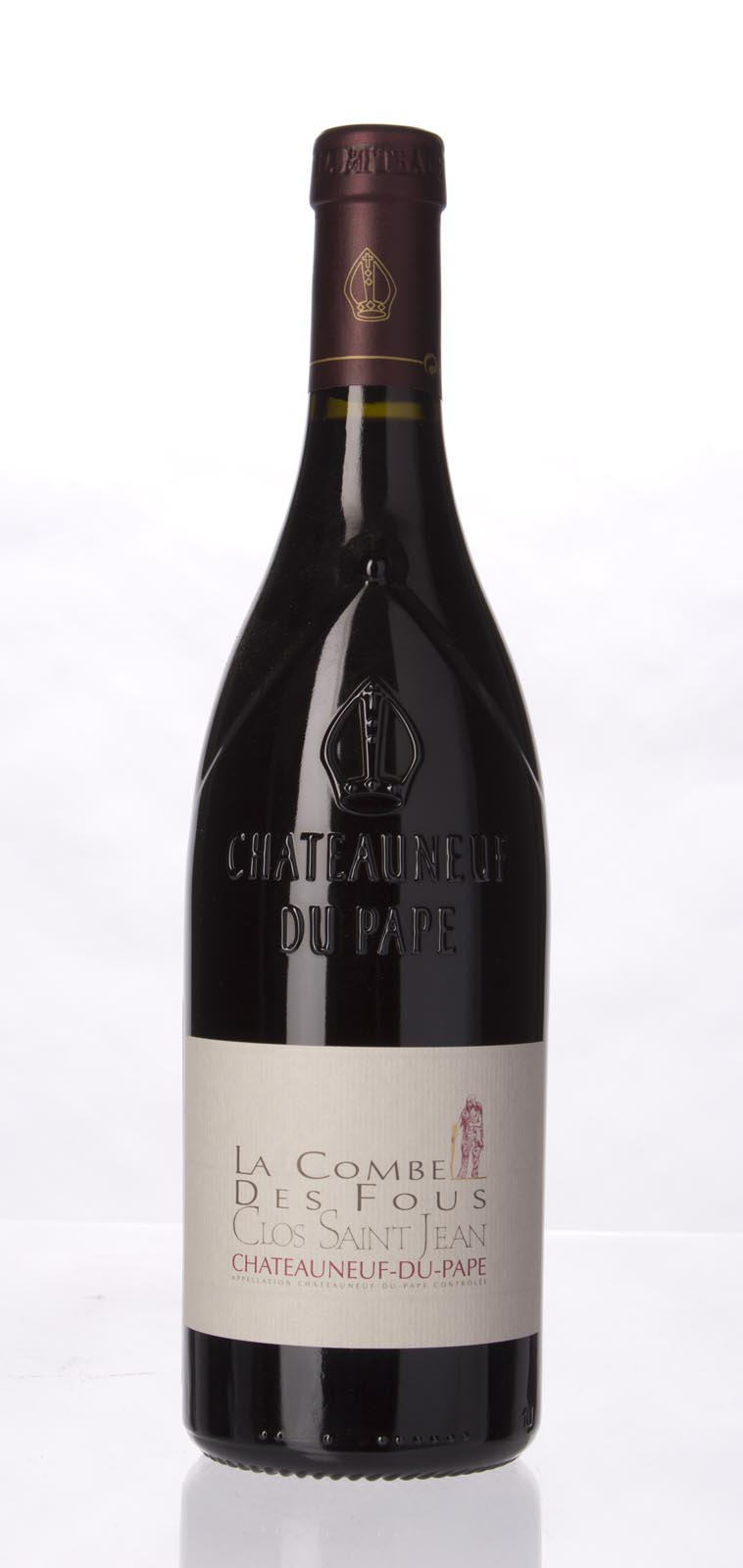 Clos St. Jean Chateauneuf du Pape la Combe des Fous 2010, 750mL (WA98) from The BPW - Merchants of rare and fine wines.