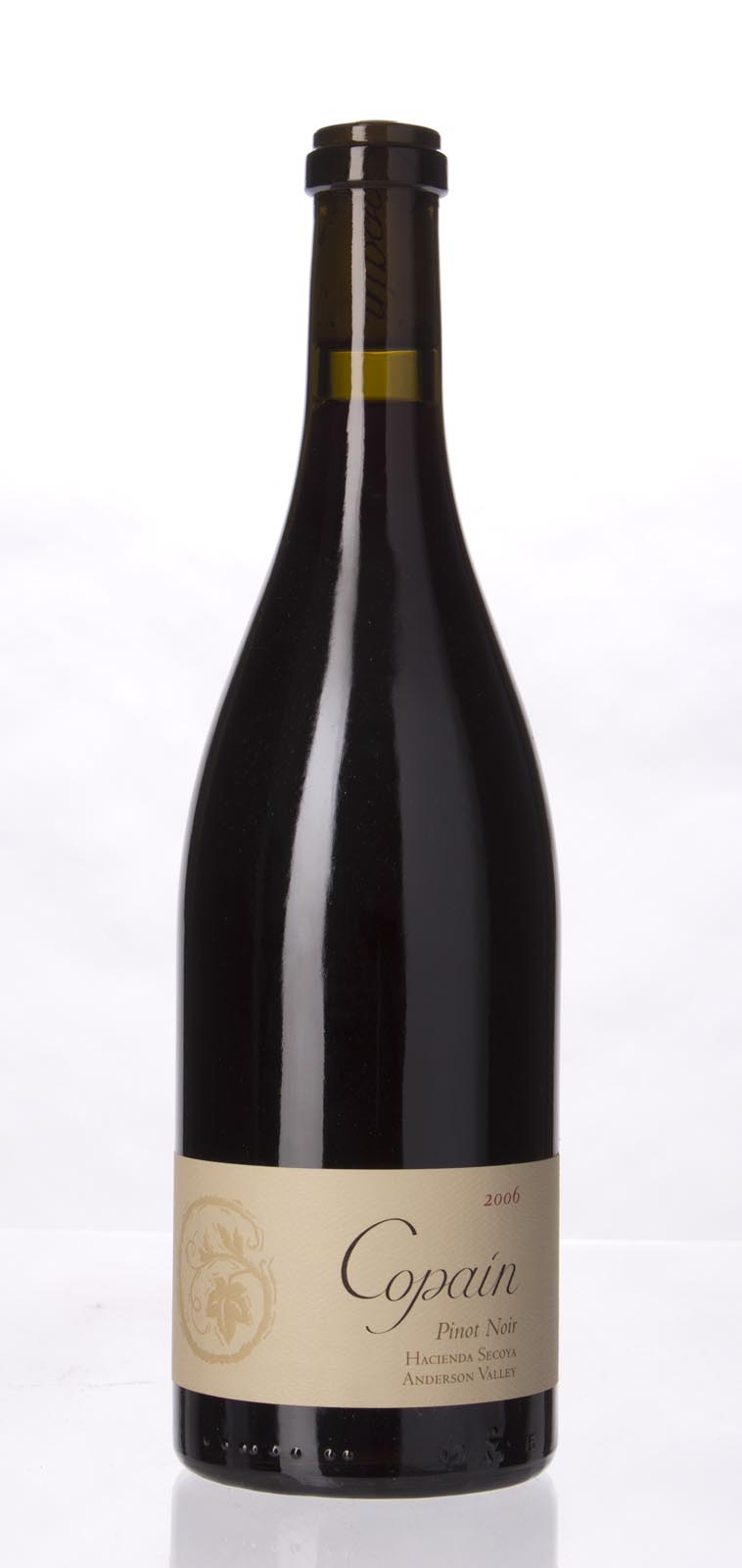 Copain Wines Pinot Noir Hacienda Secoya 2006, 750mL (ST90+) from The BPW - Merchants of rare and fine wines.