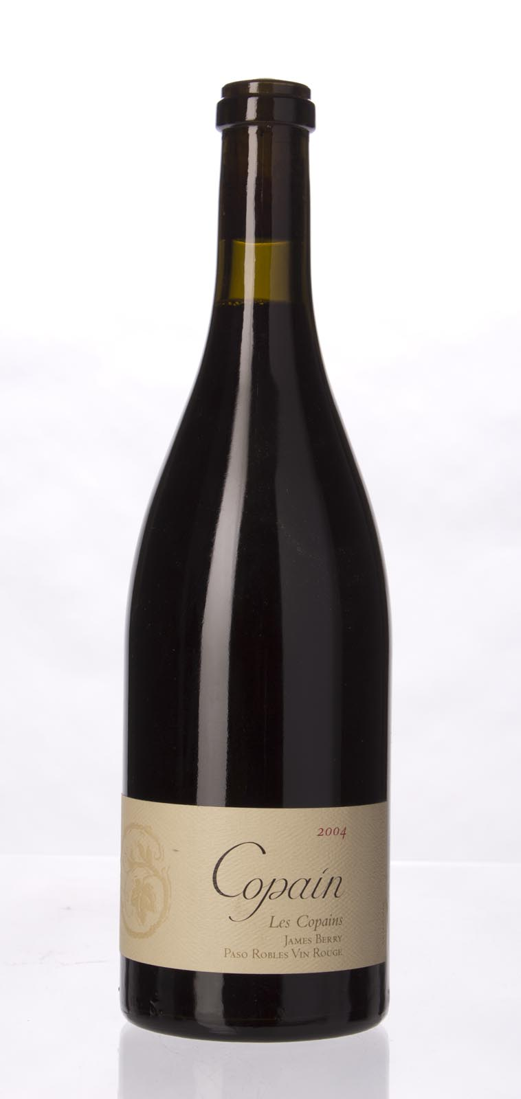 Copain Wines Proprietary Red Les Copains James Berry Vineyard 2004, 750mL () from The BPW - Merchants of rare and fine wines.