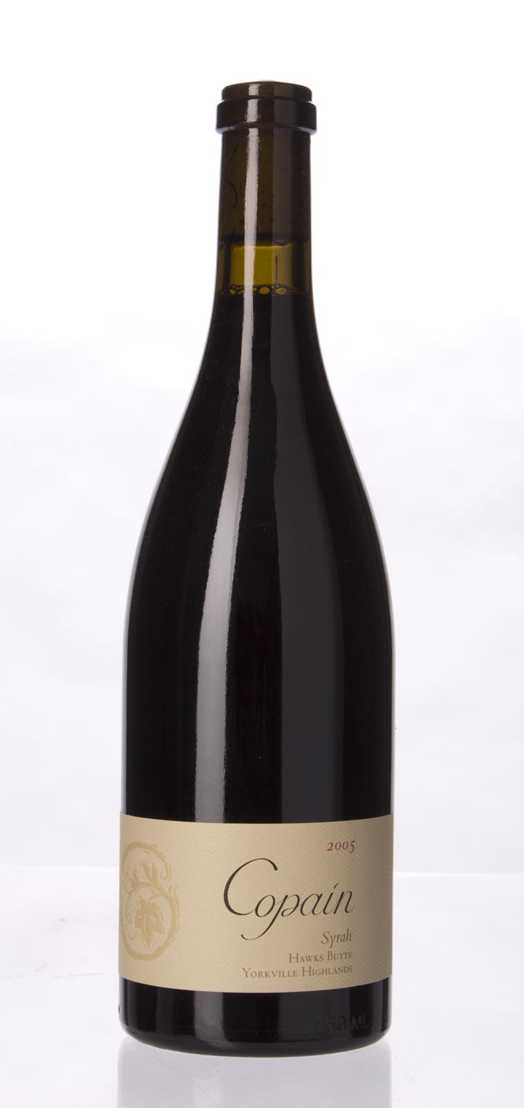 Copain Wines Syrah Hawks Butte 2005, 750mL (WA92) from The BPW - Merchants of rare and fine wines.