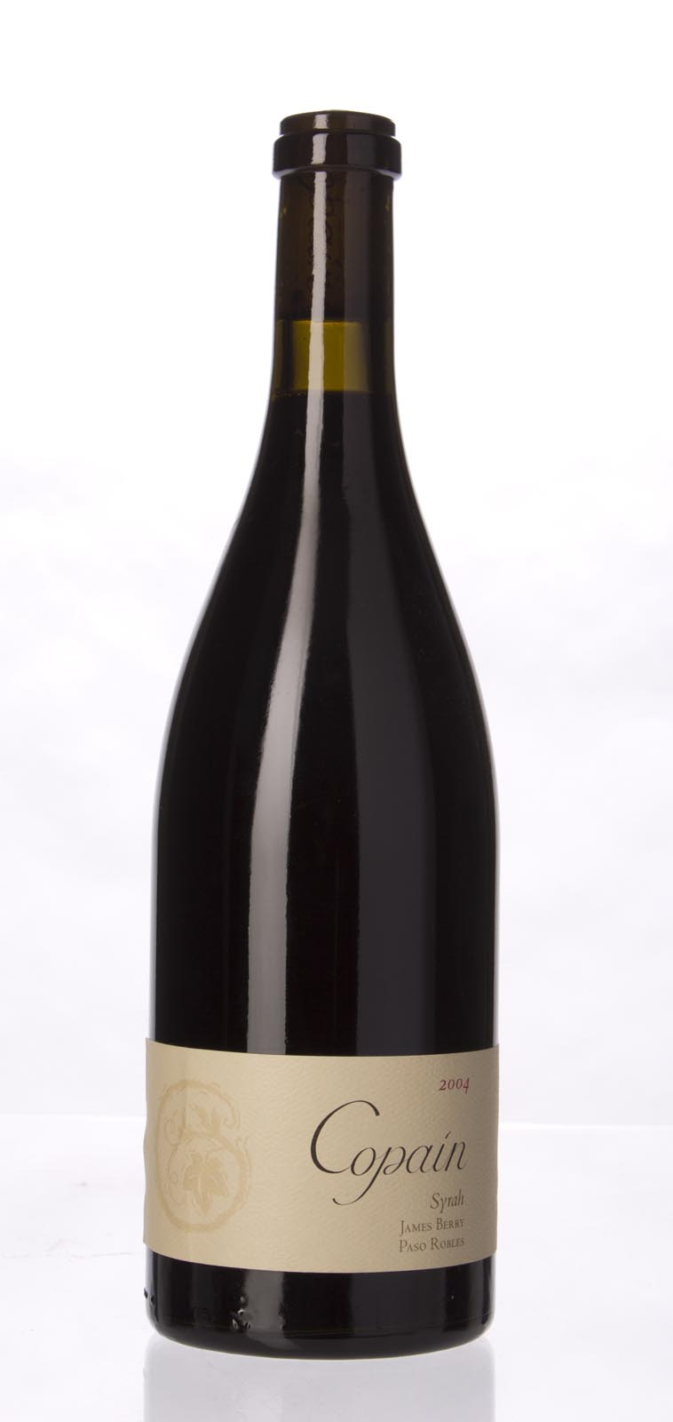 Copain Wines Syrah James Berry Vineyard 2004, 750mL (WA96) from The BPW - Merchants of rare and fine wines.