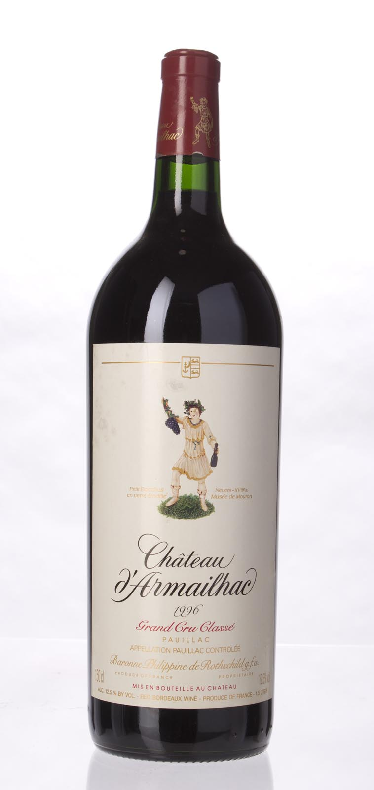 D`Armailhac 1996, 1.5L () from The BPW - Merchants of rare and fine wines.
