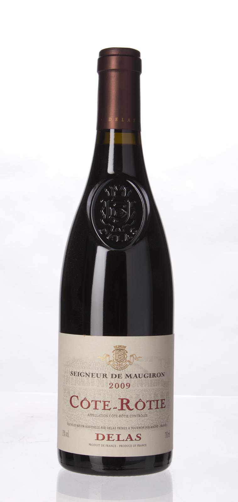 Delas Freres Cote Rotie Seigneur de Maugiron 2009, 750mL (WA93, WS94) from The BPW - Merchants of rare and fine wines.