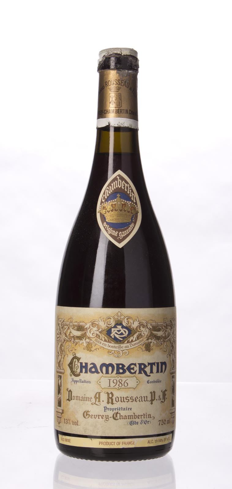 Domaine Armand Rousseau Chambertin 1986, 750mL (WA90) from The BPW - Merchants of rare and fine wines.