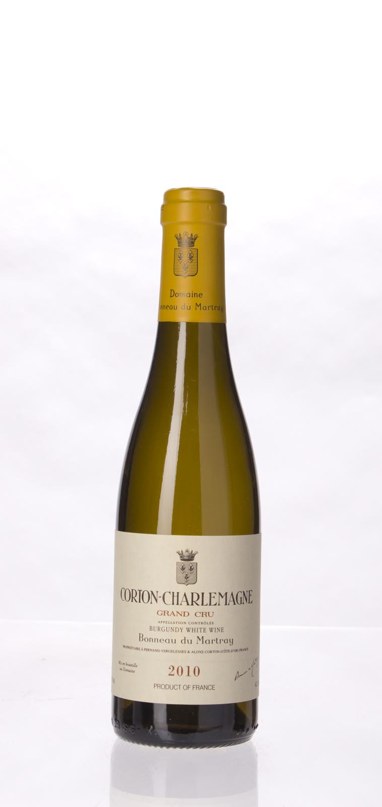 Domaine Bonneau du Martray Corton Charlemagne 2010, 375mL (WA96, ST94) from The BPW - Merchants of rare and fine wines.