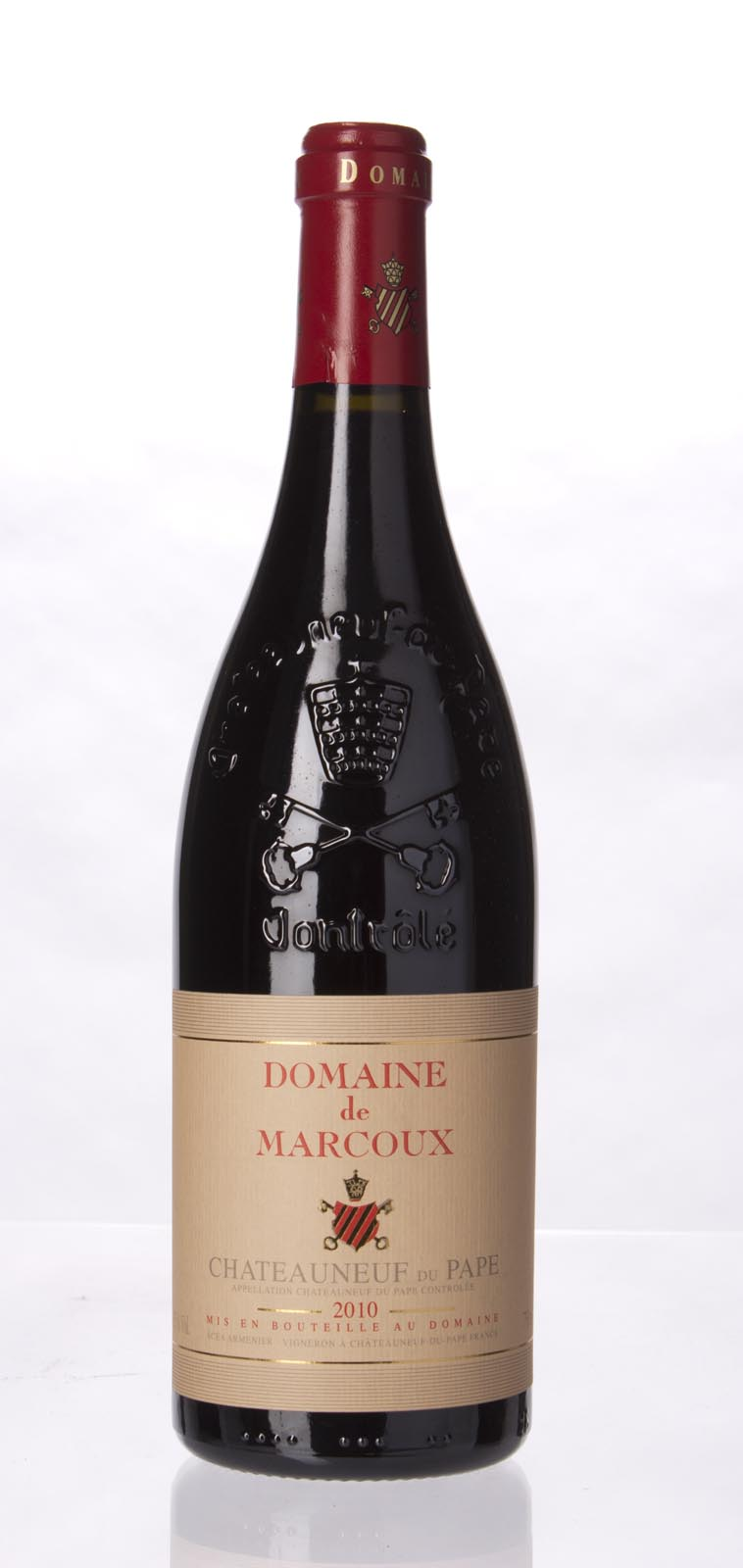 Domaine de Marcoux Chateauneuf du Pape 2010, 750mL (WA93, ST93) from The BPW - Merchants of rare and fine wines.