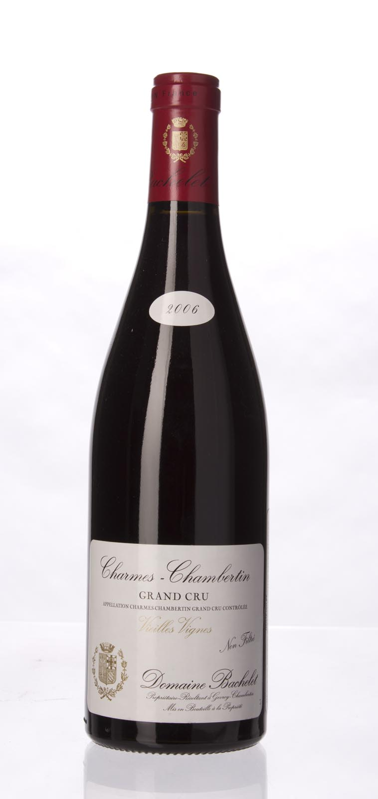 Domaine Denis Bachelet Charmes Chambertin Vieilles Vignes 2006, 750mL () from The BPW - Merchants of rare and fine wines.