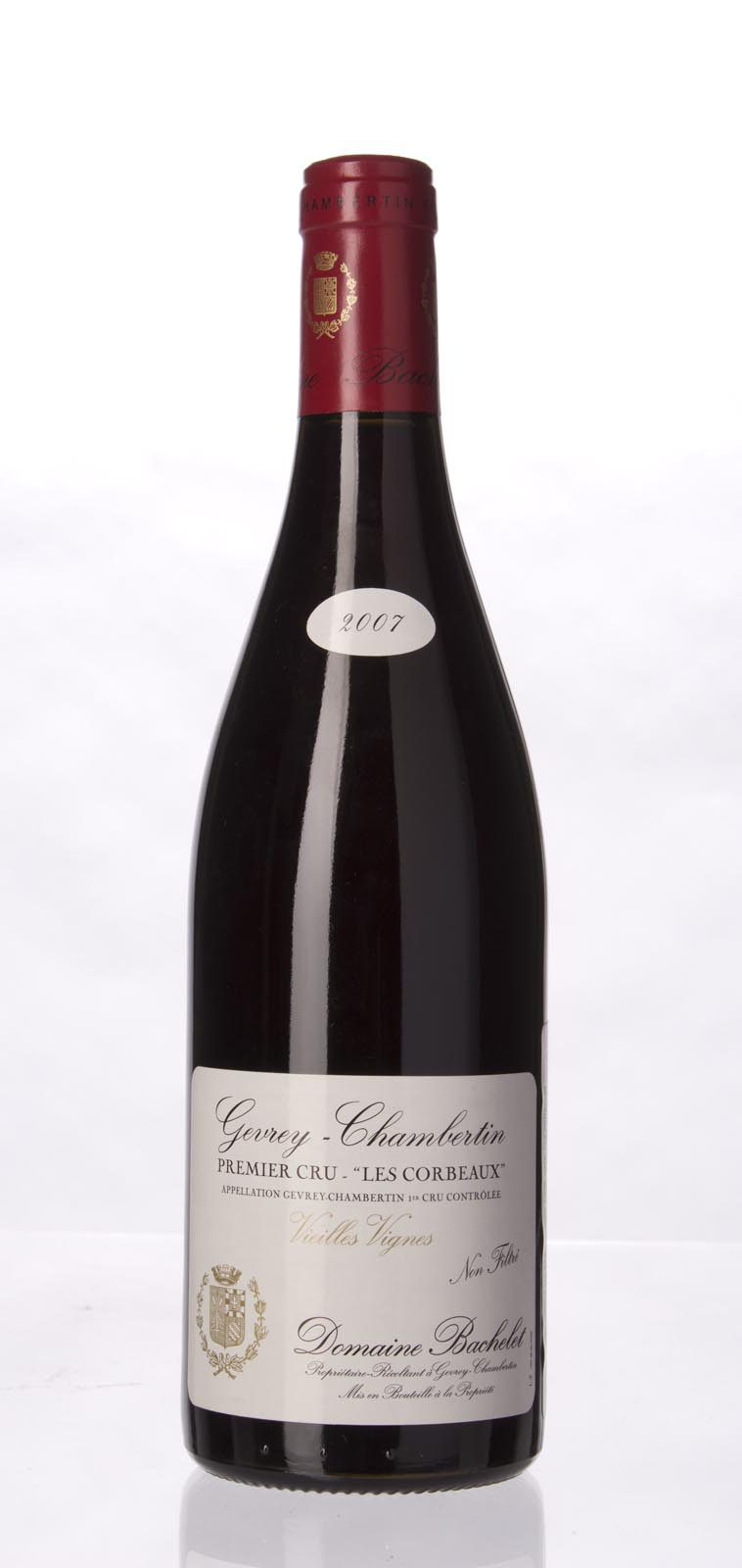 Domaine Denis Bachelet Gevrey Chambertin les Corbeaux Vieilles Vignes 2007, 750mL () from The BPW - Merchants of rare and fine wines.