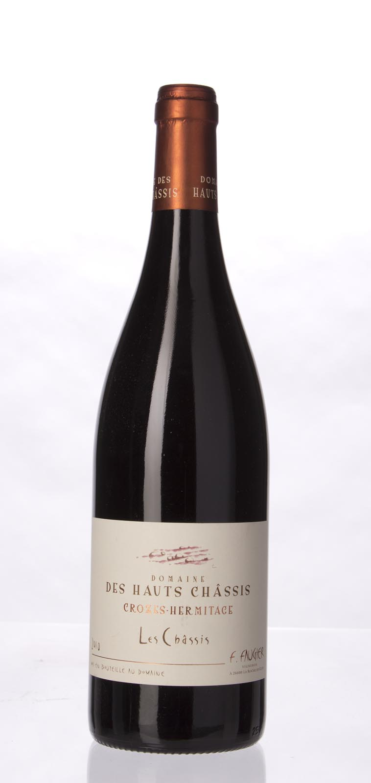 Domaine des Hauts Chassis Crozes Hermitage Les Chassis 2010,  (WS90) from The BPW - Merchants of rare and fine wines.
