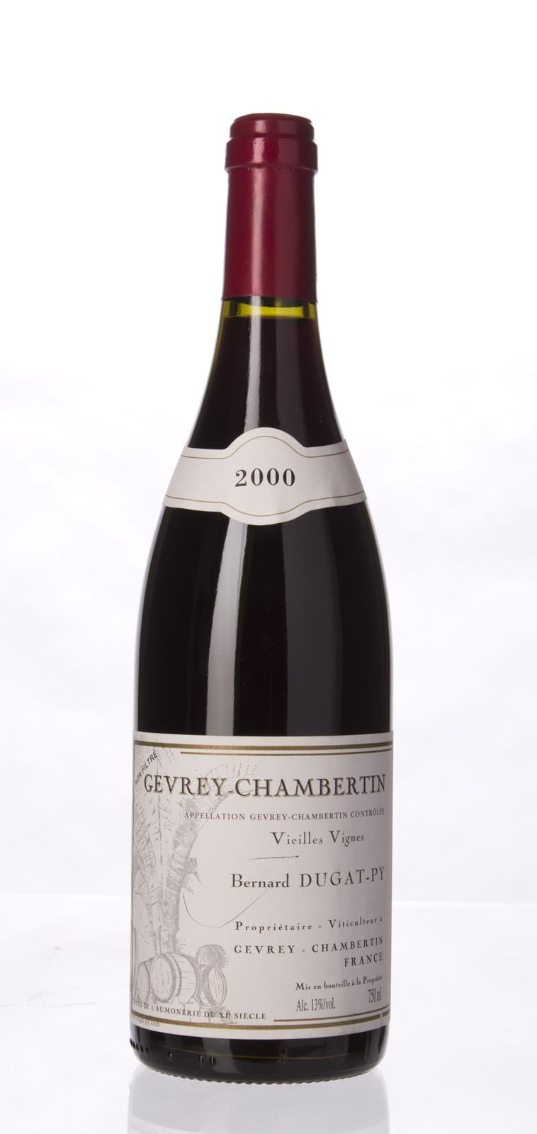 Domaine Dugat Py Gevrey Chambertin Vieilles Vignes 2000, 750mL () from The BPW - Merchants of rare and fine wines.