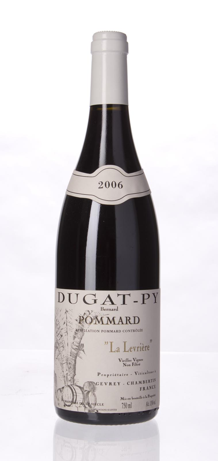 Domaine Dugat Py Pommard la Levriere Vieilles Vignes 2006, 750mL () from The BPW - Merchants of rare and fine wines.