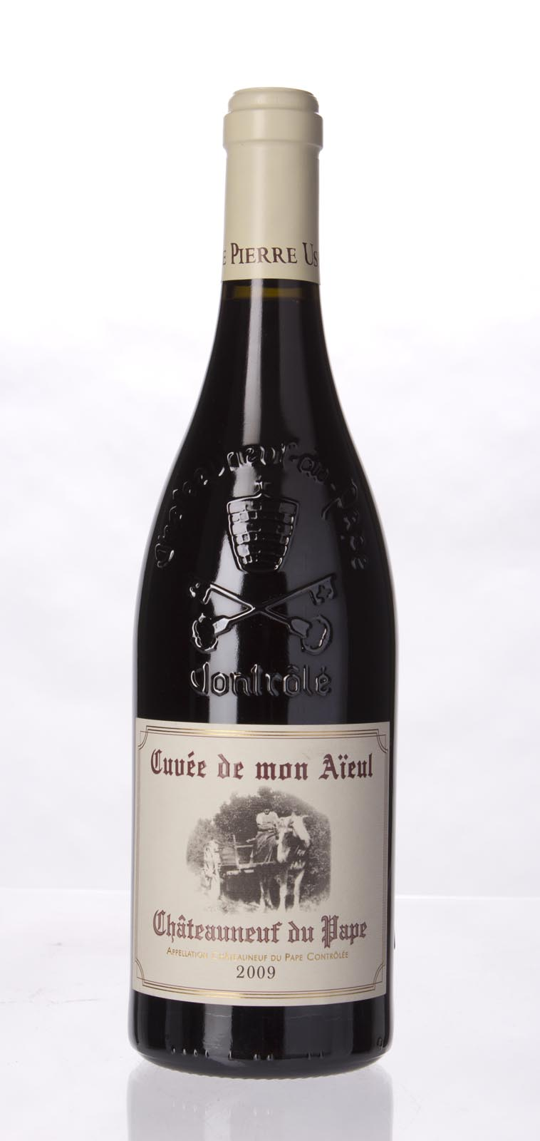 Pierre Usseglio Chateauneuf du Pape Cuvee de Mon Aieul 2009, 750mL (WA92-94, ST93, WS92) from The BPW - Merchants of rare and fine wines.