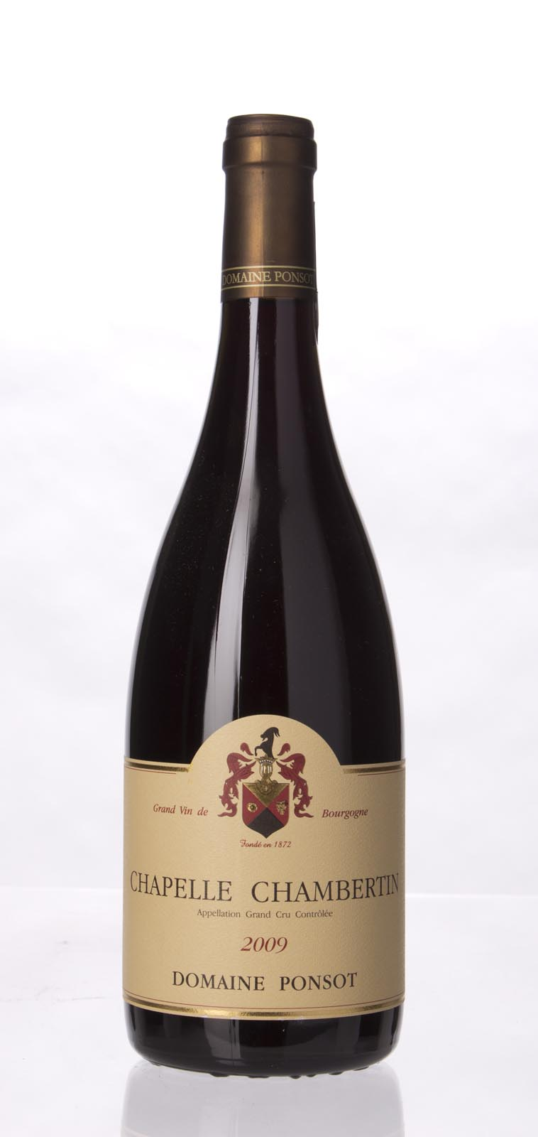 Domaine Ponsot Chapelle Chambertin 2009, 750mL (BH92) from The BPW - Merchants of rare and fine wines.