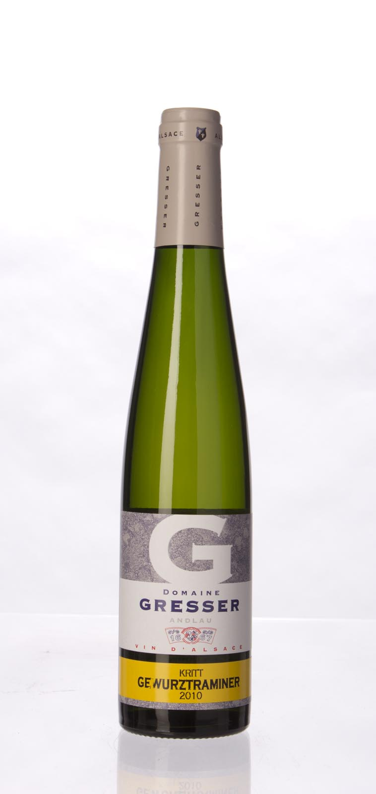 Domaine Remy Gresser Gewurztraminer Kritt 2010, 375ml () from The BPW - Merchants of rare and fine wines.