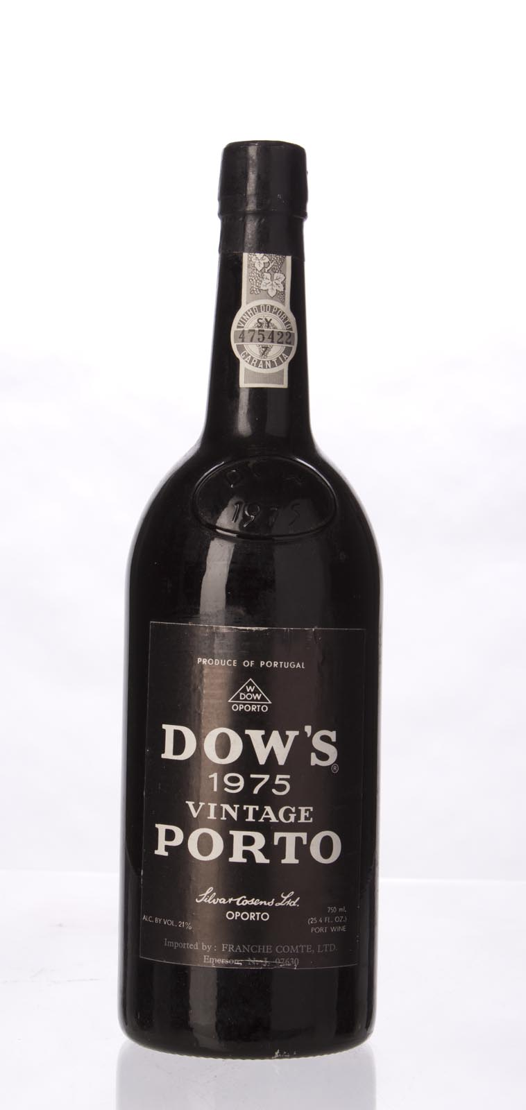 Dow Vintage Port 1975, 750mL () from The BPW - Merchants of rare and fine wines.