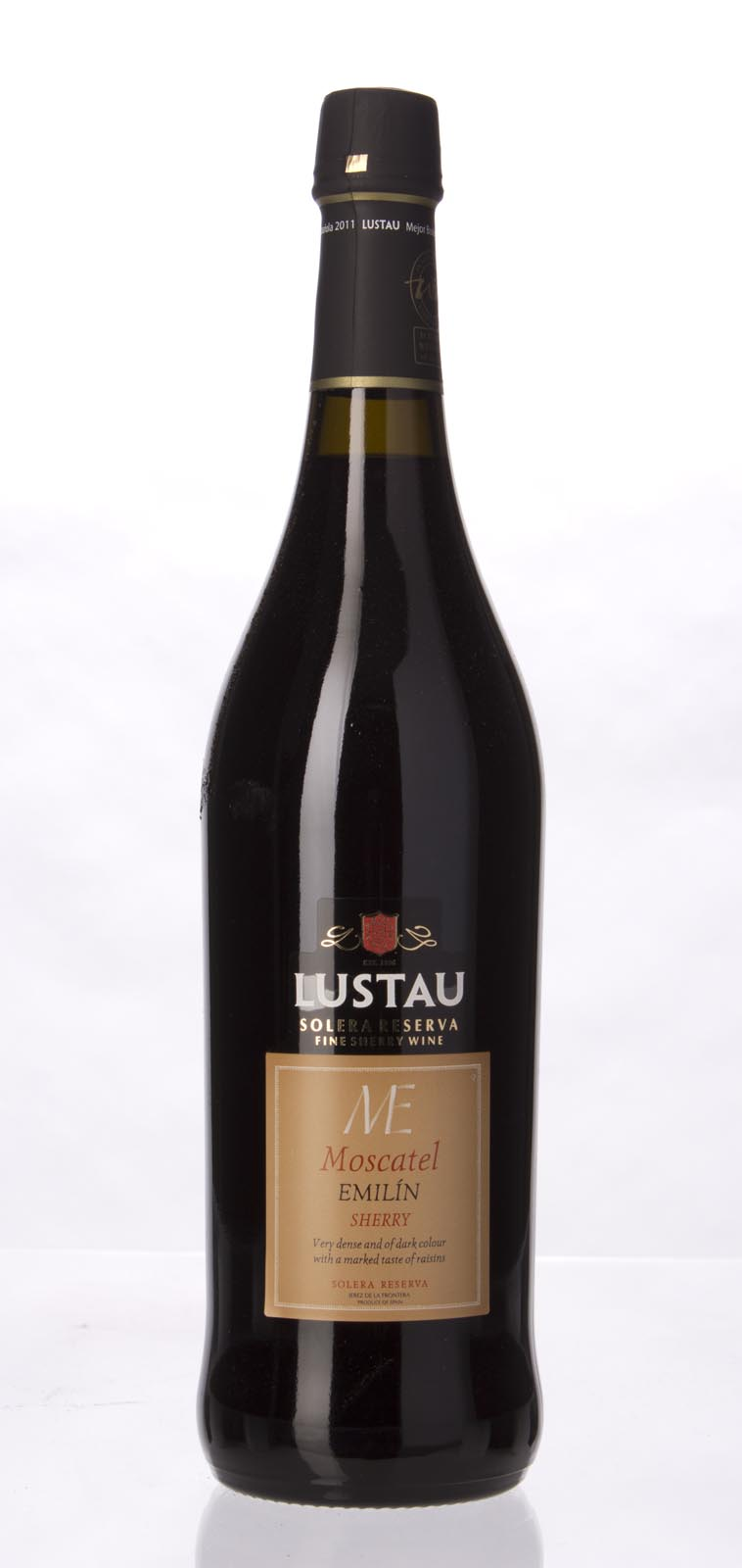Emilio Lustau Moscatel Emilin Solera Reserve N.V.,  (WA96) from The BPW - Merchants of rare and fine wines.