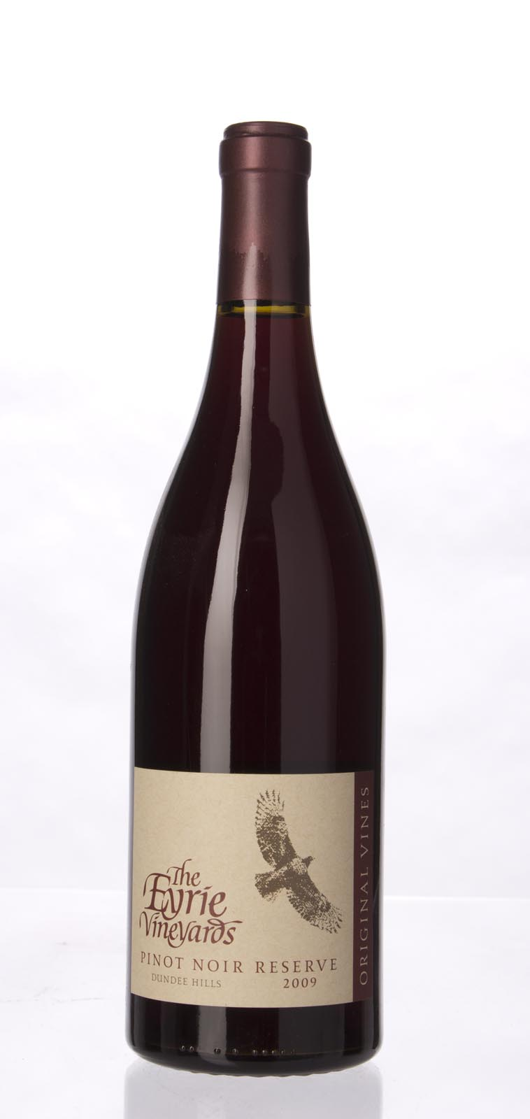 Eyrie Vineyards Pinot Noir Reserve Original Vines 2009, 750mL (WA92, ST92+) from The BPW - Merchants of rare and fine wines.