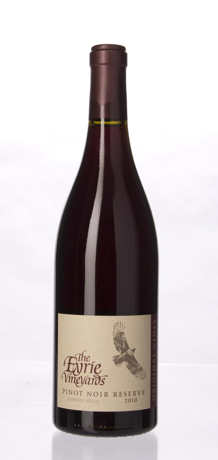 Eyrie Vineyards Pinot Noir Reserve Original Vines 2010, 750mL () from The BPW - Merchants of rare and fine wines.