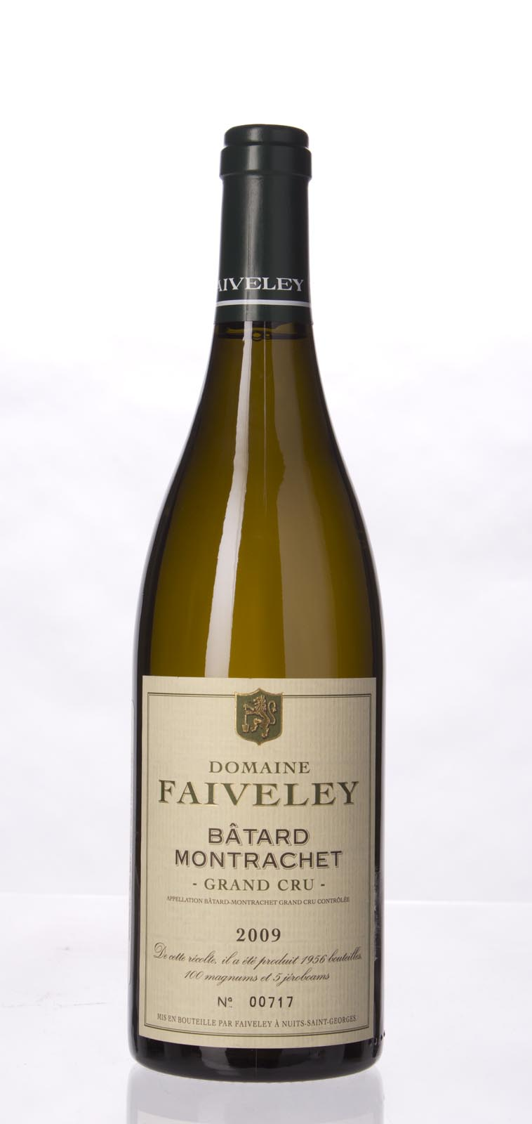Faiveley Batard Montrachet 2009, 750mL (BH91-93, WS) from The BPW - Merchants of rare and fine wines.
