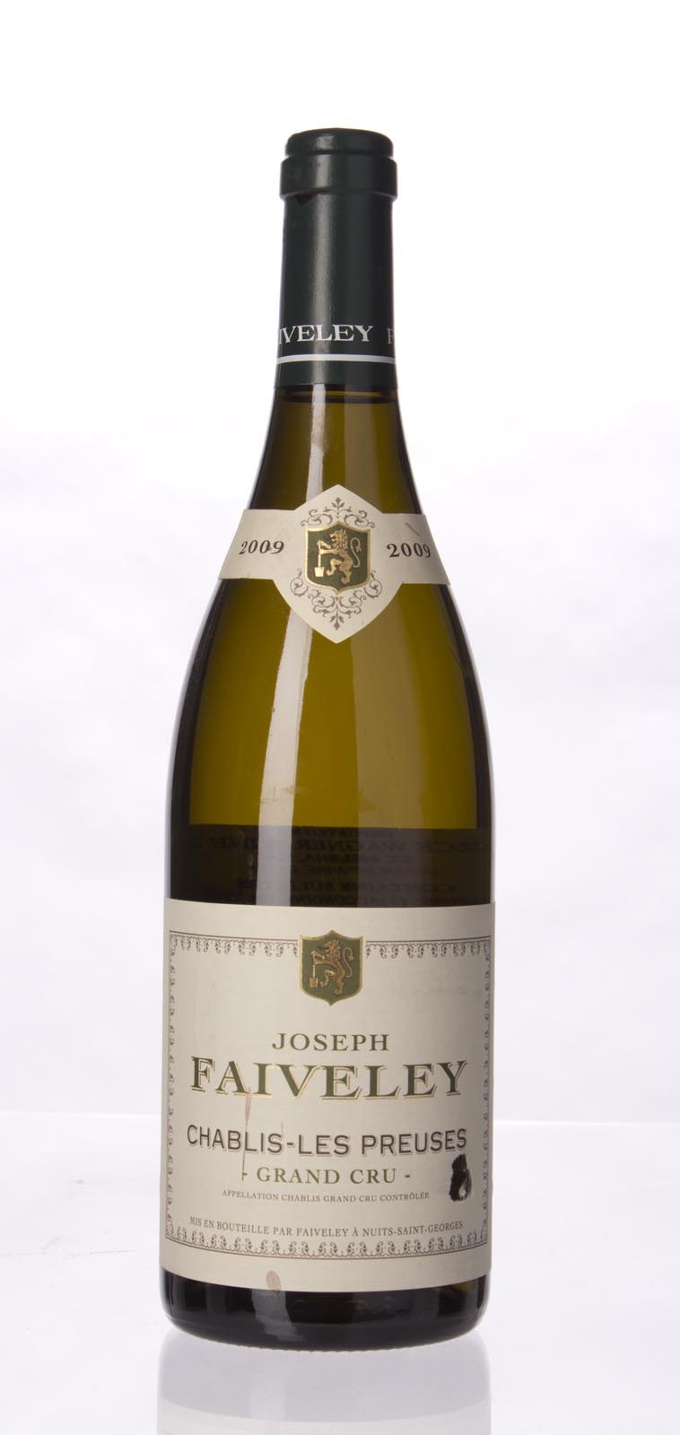 Faiveley Chablis les Preuses 2009, 750mL (ST95) from The BPW - Merchants of rare and fine wines.