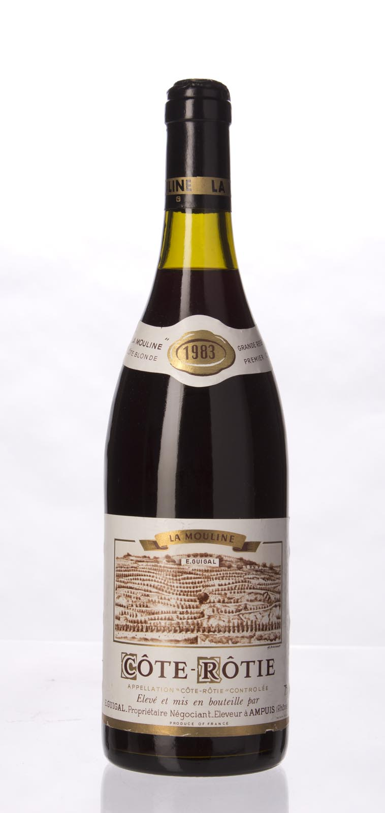 Guigal Cote Rotie la Mouline 1983, 750mL (WA100) from The BPW - Merchants of rare and fine wines.