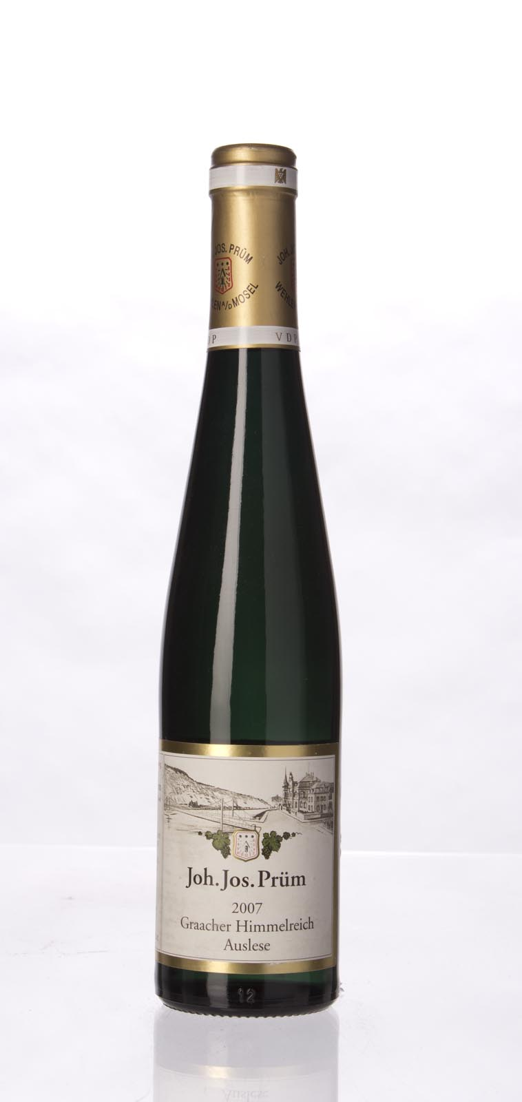 JJ Prum Graacher Himmelreich Riesling Auslese Gold Capsule 2007, 375mL (WA94) from The BPW - Merchants of rare and fine wines.