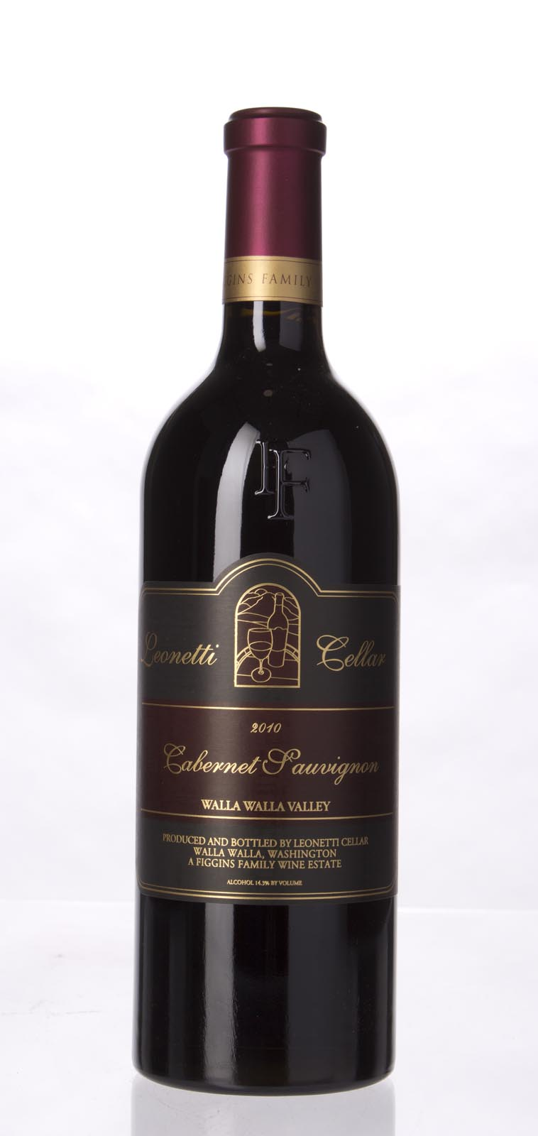 Leonetti Cellar Cabernet Sauvignon Columbia Valley 2010, 750ml (97+) from The BPW - Merchants of rare and fine wines.