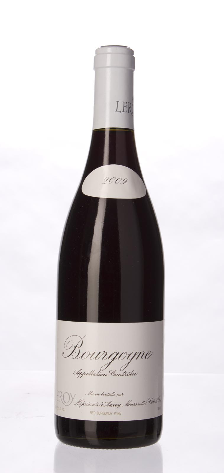 Leroy Bourgogne Rouge 2009, 750mL () from The BPW - Merchants of rare and fine wines.
