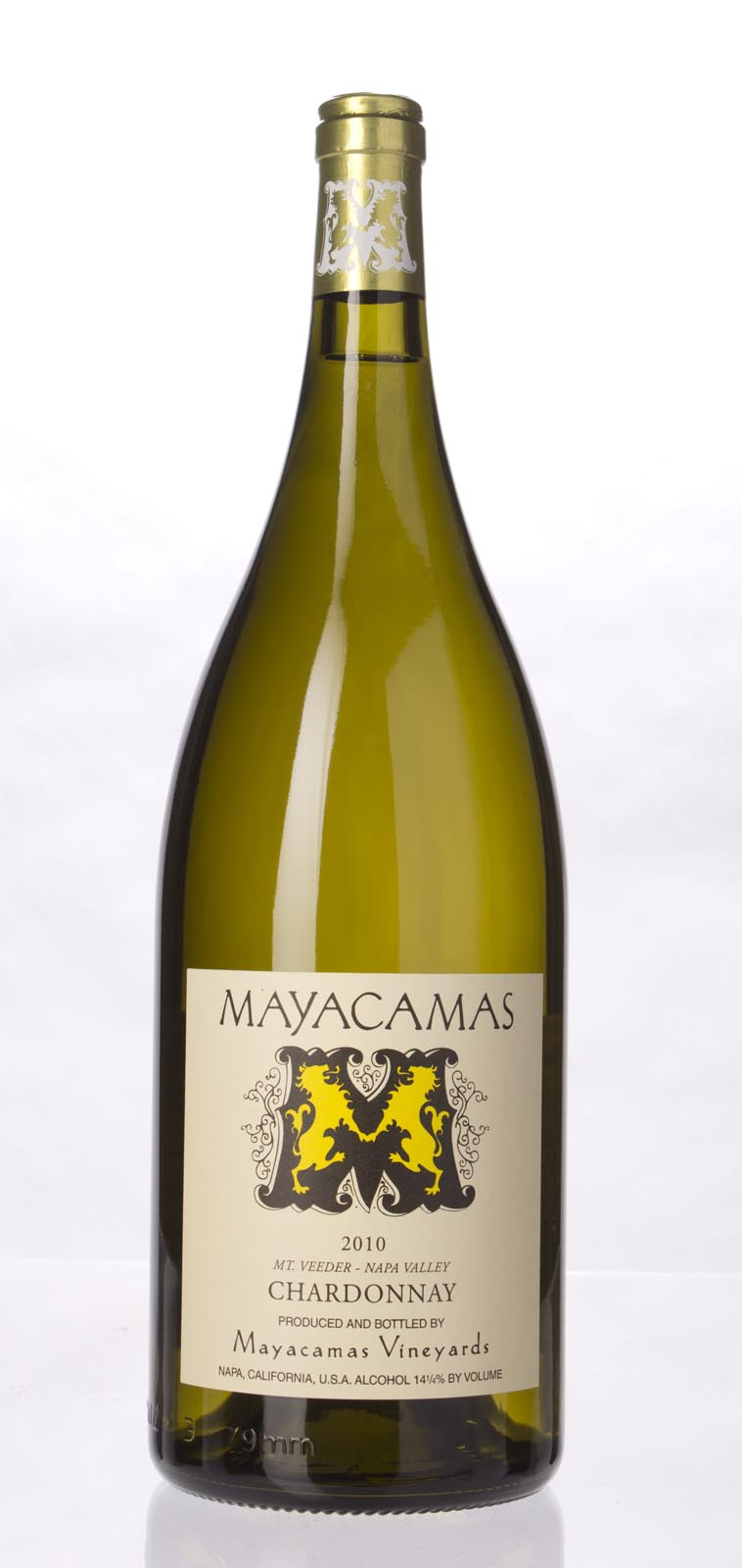 Mayacamas Chardonnay 2010, 1.5L () from The BPW - Merchants of rare and fine wines.