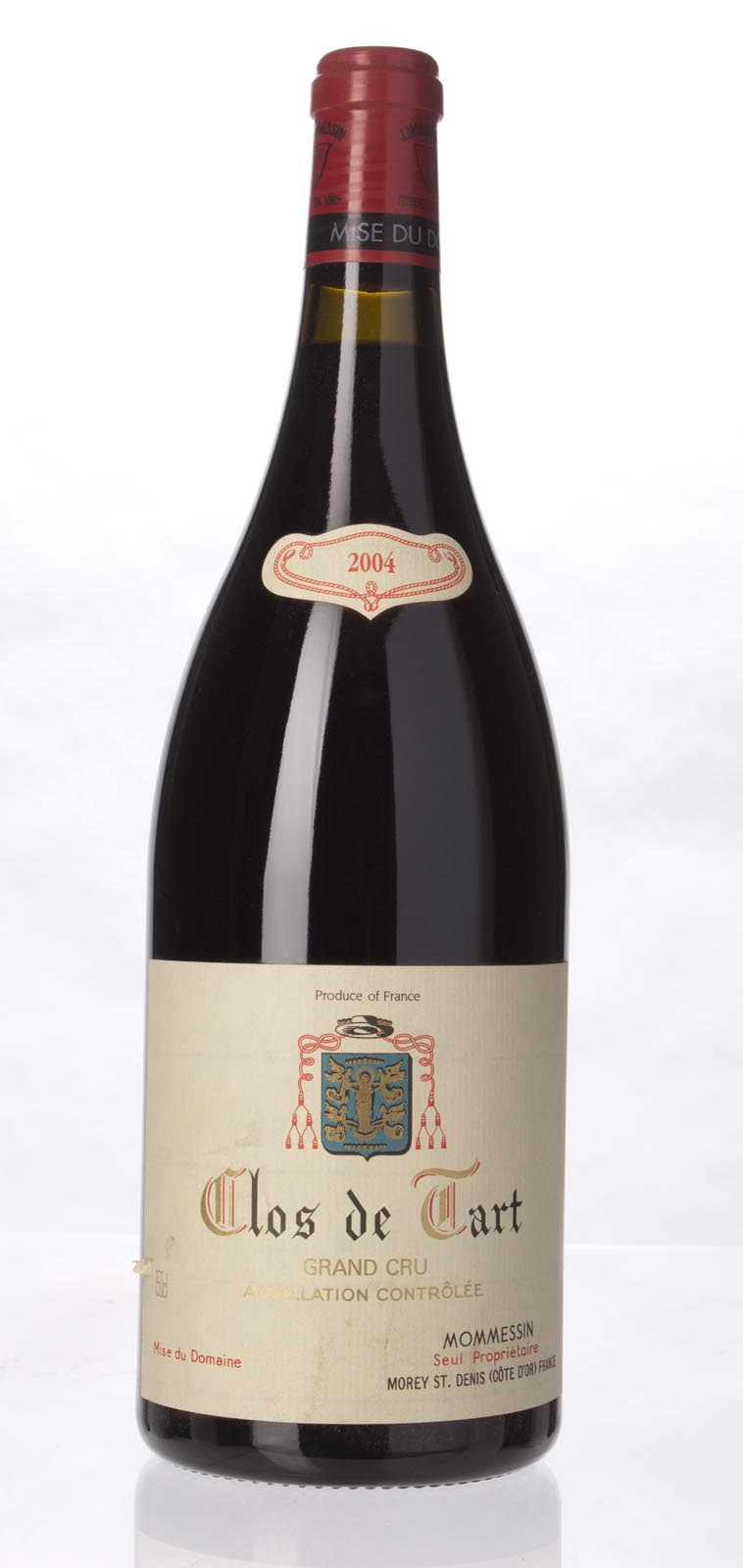Mommessin Clos de Tart 2004, 1.5L (ST92) from The BPW - Merchants of rare and fine wines.