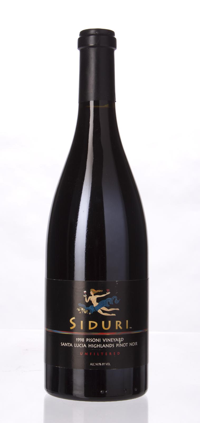 Siduri Pinot Noir Pisoni Vineyard 1998, 750mL (WA90, ST91, WS91) from The BPW - Merchants of rare and fine wines.