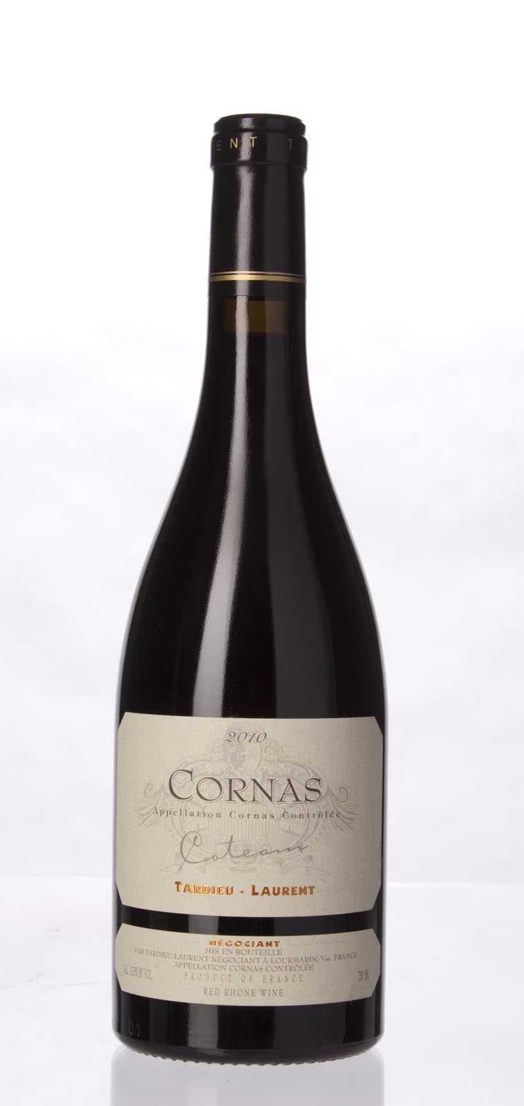 Tardieu Laurent Cornas Cuvee Coteaux 2010, 750mL (ST92, WS93) from The BPW - Merchants of rare and fine wines.