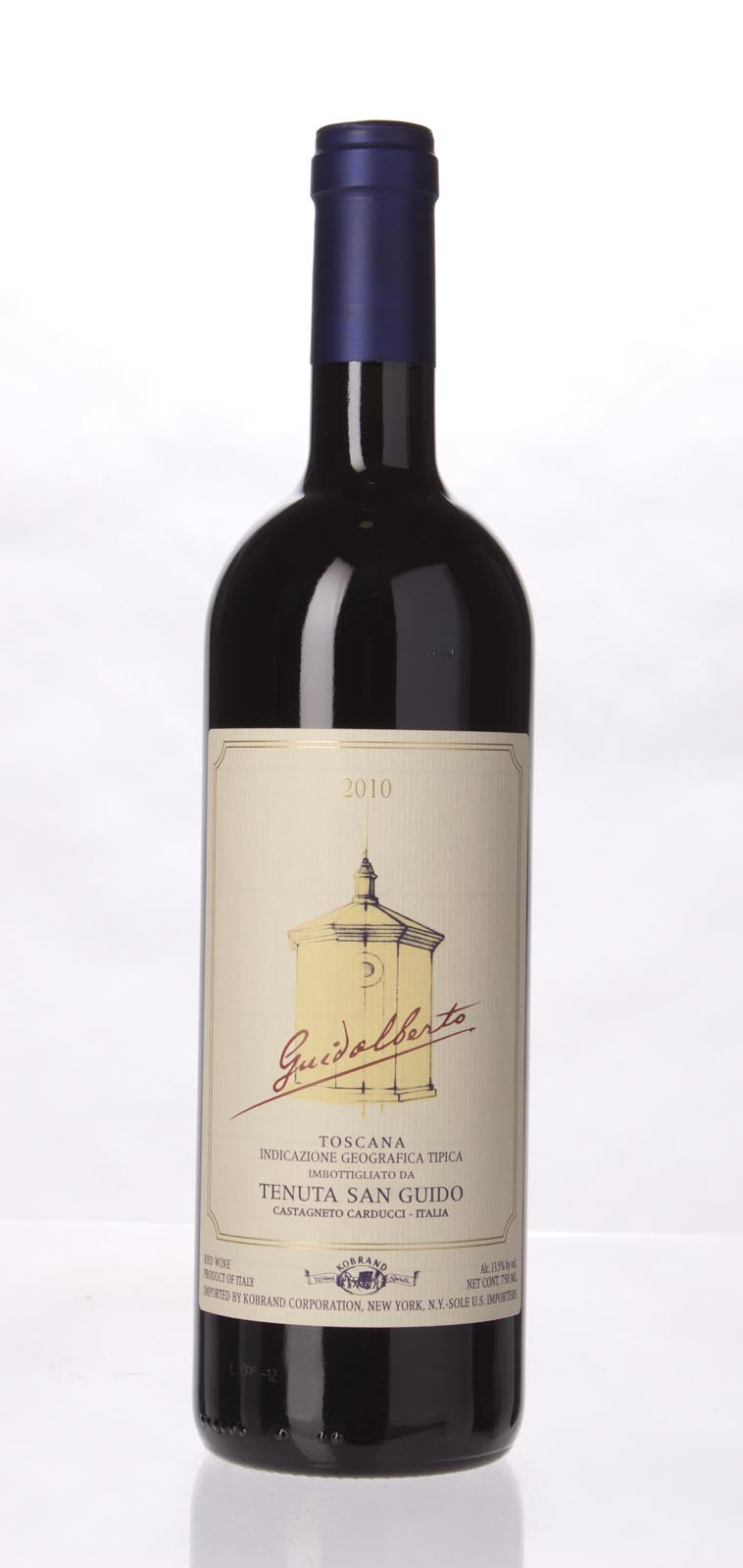 Tenuta San Guido Guidalberto 2010,  (JS92, WS90) from The BPW - Merchants of rare and fine wines.