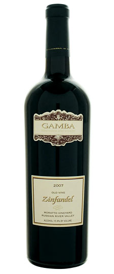 Gamba Zinfandel Starr Road Ranch Old Vine 2011,  () from The BPW - Merchants of rare and fine wines.