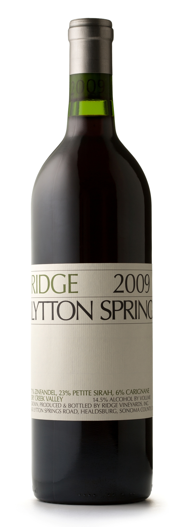 Ridge Proprietary Red Lytton Springs 2011, 750ml (AG93+, WA92-94) from The BPW - Merchants of rare and fine wines.