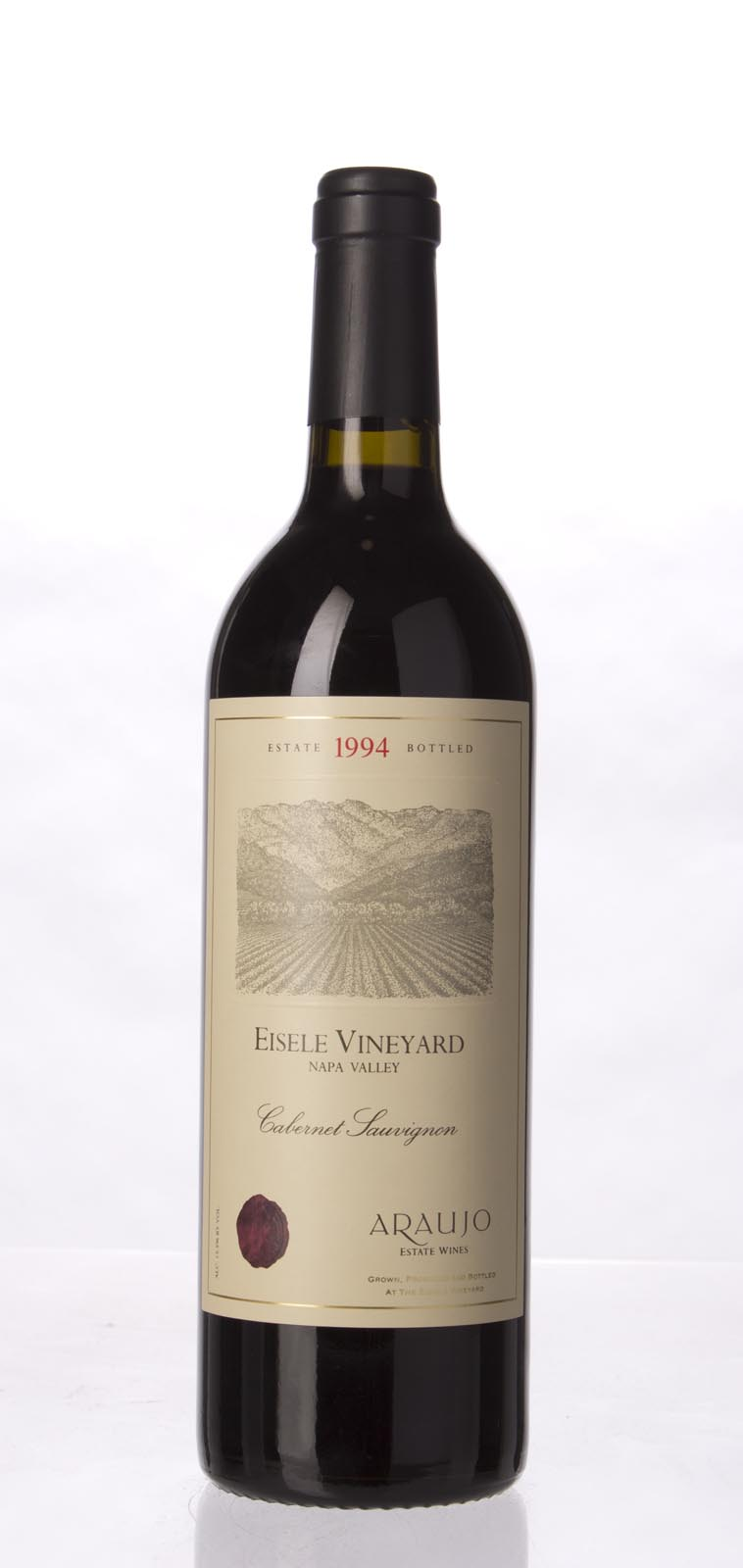 Araujo Estate Cabernet Sauvignon Eisele Vineyard 1994, 750mL (WA95, WS96) from The BPW - Merchants of rare and fine wines.